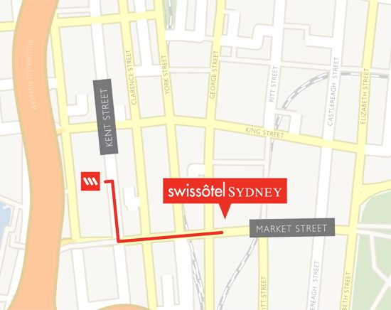 Swissotel map